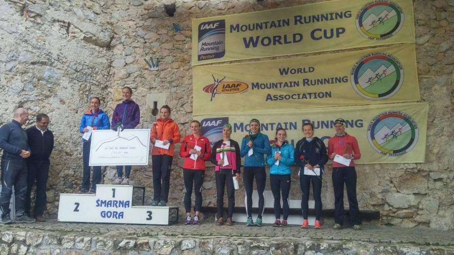 Argento per Alice Gaggi alla Smarna Gora Mountain Race