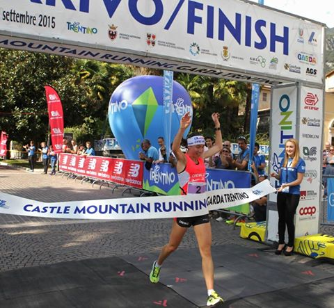 Alice Gaggi vince la Castle Mountain Running
