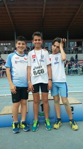 Martina Amerio, Simone Russo e Andrea Mattiotti sono Campioni Provinciali!