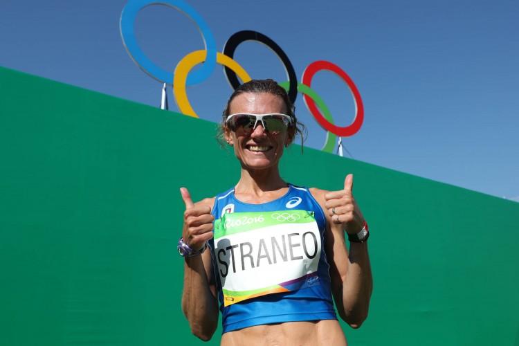 Valeria Straneo 13esima nella maratona delle Olimpiadi di Rio 2016!