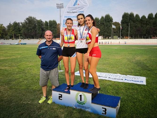 Federica Pagliassotto è Campionessa Regionale sugli 800m cat.Allieve!